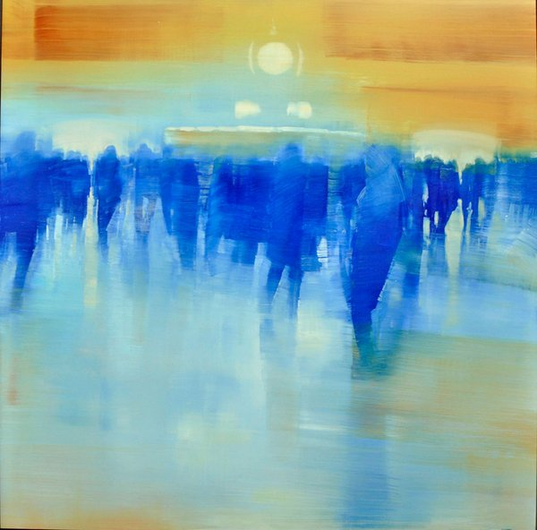 Grand Central Terminal, Blue to Amber
