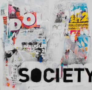 Society Throw The Poster's Advertising