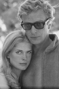 Michael Caine and Candice Bergen, 'The Magus'