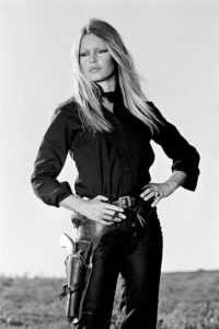 Brigitte Bardot Holster Hip (Co-signed by Terry O'Neill and Brigitte Bardot)