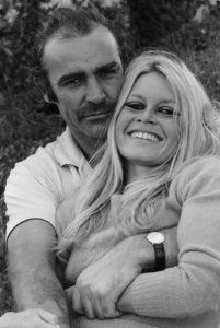 Sean Connery And Brigitte Bardot Squeeze