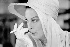 Ava Gardner with Ciggie