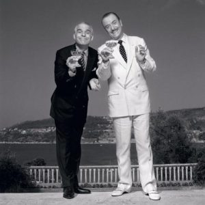 Steve Martin and Michael Caine Black White And Sky 2