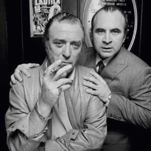 Bob Hoskins and Michael Caine Cigar And Stare