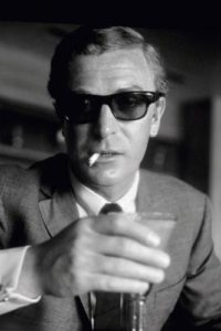 Michael Caine Cigarette And Shades