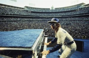 Elton John at Dodger Stadium 8