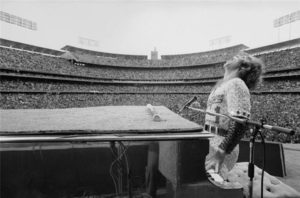 Elton John at Dodger Stadium 9