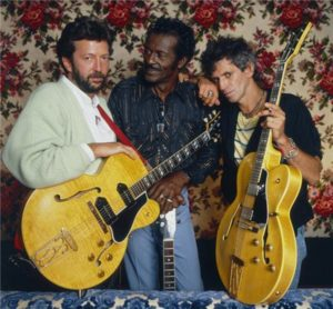 Guitar Legends: Berry, Clapton and Richards