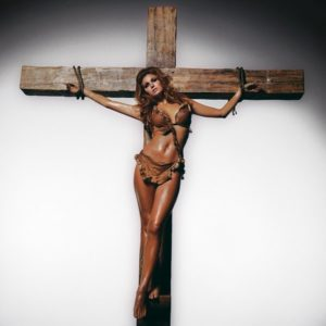 Raquel on the Cross 4