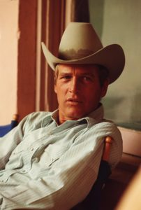 Paul Newman with White Hat 2