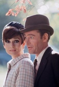 Audrey Hepburn and Peter O'Toole 1966 in Paris.