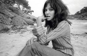 Anna Karina Beach Photo