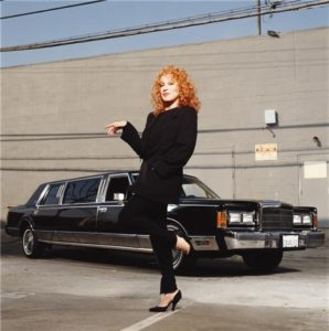 Bette Midler Black Limo