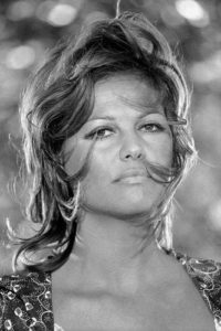 Claudia Cardinale Wind Swept Hair