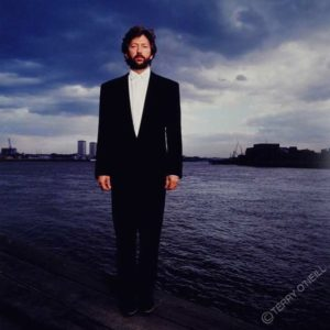 Eric Clapton on the Thames