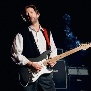 Eric Clapton Red Guitar Strap