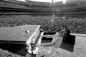 Elton John at Dodger Stadium 3
