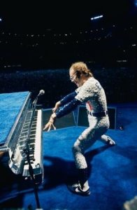Elton at Dodger Stadium