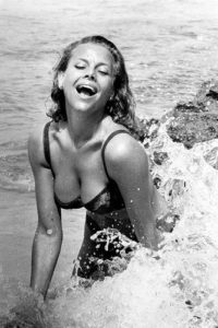 Honor Blackman Big Splash