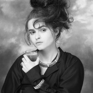 Helena Bonham Carter Water Glass