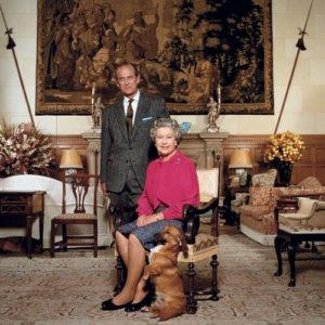Queen Elisabeth II and Prince Philip
