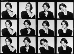 Isabella Rossellini Contact Sheet