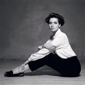 Isabella Rossellini in White 2
