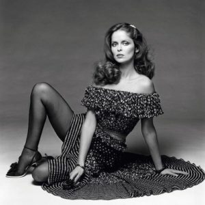 Barbara Bach Black Stockings
