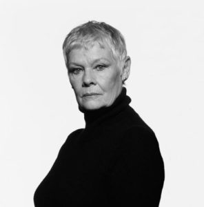 Judi Dench Black Turtleneck