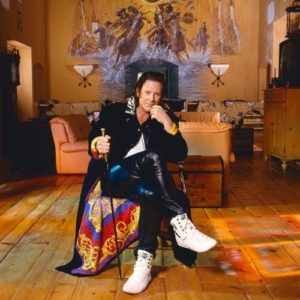 Mickey Rourke Sitting Coy