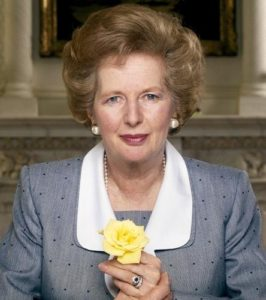 Margaret Thatcher Yellow Rose