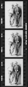 Paul Newman and Lee Marvin Contact Strip