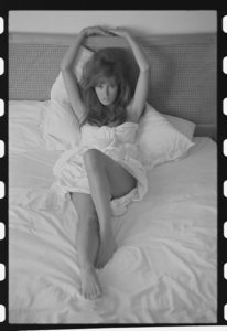 Raquel Welch Reclined in White 3