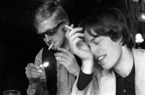 Andrew Loog Oldham and Mick Jagger 2