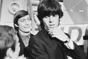 Charlie Watts And Keith Richards -D