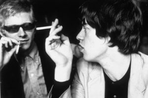 Andrew Loog Oldham and Mick Jagger