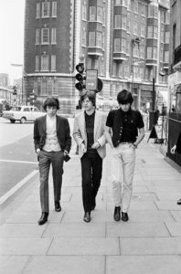 Bill Wyman, Mick Jagger And Keith Richards In London