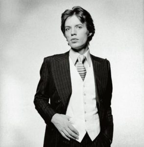 Mick Jagger Suit And Tie 2