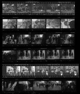 The Rolling Stones Soho Contact Sheet