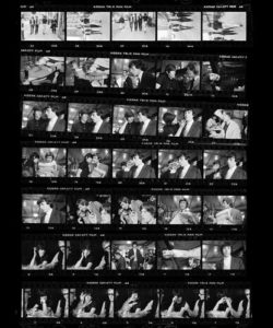 The Rolling Stones Ready Set Go Contact Sheet