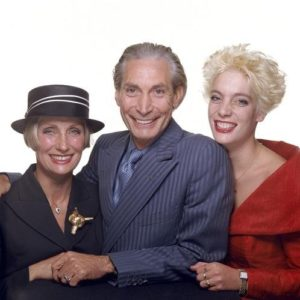 Charlie Watts And Family