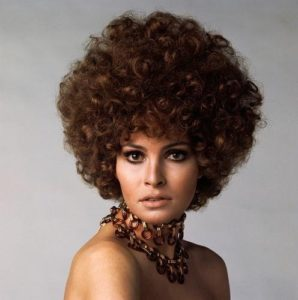 Raquel Welch with Perm