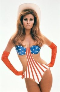 Raquel Welch Stars and Stripes 5