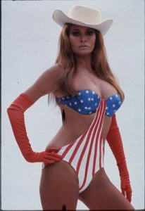 Raquel Welch Stars and Stripes 2