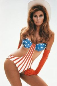 Raquel Welch Stars and Stripes 4