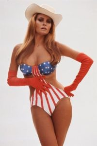 Raquel Welch Stars and Stripes 3