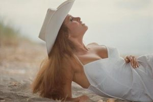 Raquel Welch White Dress