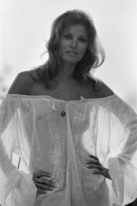 Raquel Welch Sheer Dress