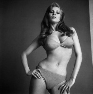 Raquel Welch Poses in Her Underwear