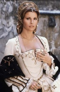 Raquel Welch 'Crossed Swords'